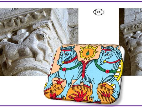 Le Chariot dans la symbolique romane. Déjà !