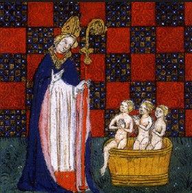 saint nicolas et le tarot de marseille alchimique carte pape
