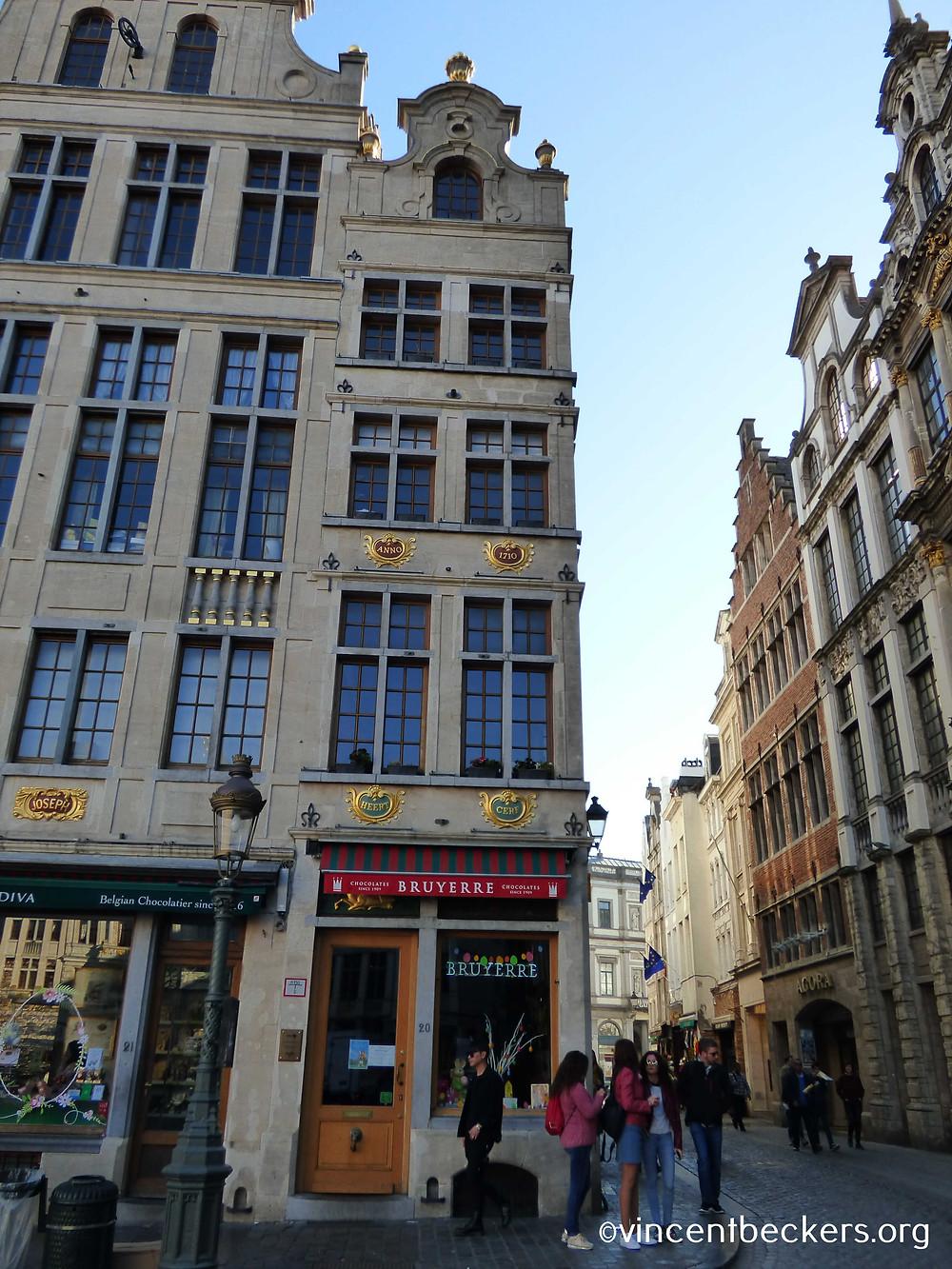 maison du Cerf, Grand-Place de Bruxelles, visite guidée Grand-Place de Bruxelles, Vincent Beckers
