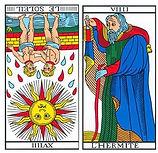 vincent-beckers, soleil renverse, carte tarot, enfant battu