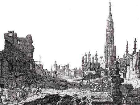 1695, Grand-Place Bruxelles : merci amis Français ! 4/4