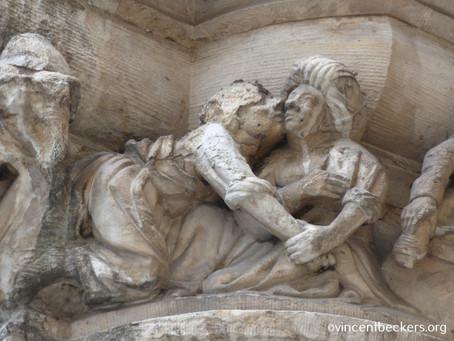 Des sculptures de l'hôtel de ville de Bruxelles 1/2