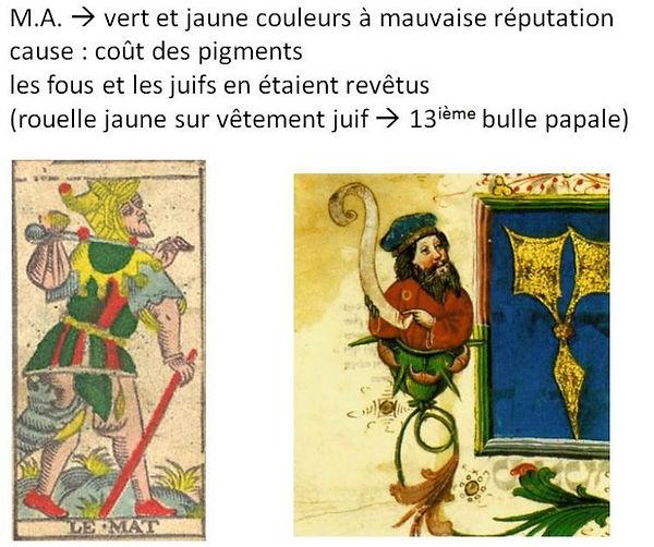 symbolique couleur carte tarot vincent beckers