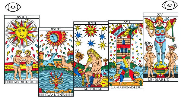porte energetique tarot vincent beckers