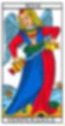 carte tarot Tempérance vincent beckers