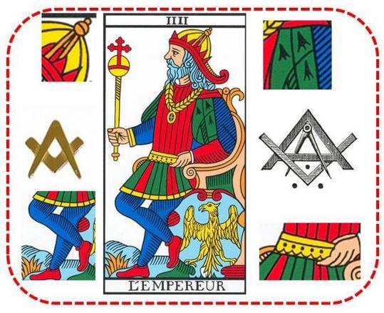 empereur tarot franc macon vincent beckers
