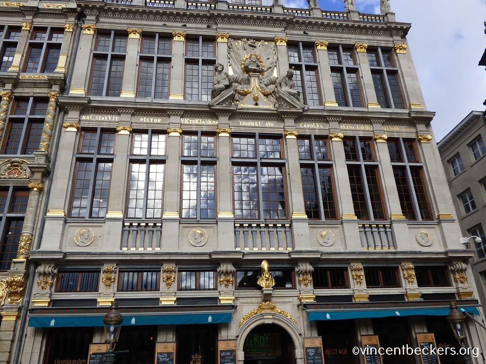 façade maison du Roy d'Espagne, Grand-Place Bruxelles, visite guidée Grand-Place Bruxelles, Vincent Beckers