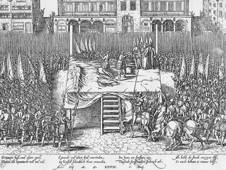 Condamné à mort sur la Grand-Place de Bruxelles !