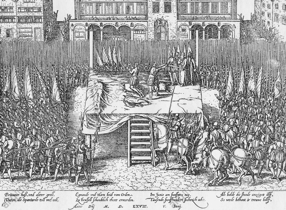 décapitation comtes Egmont et Hornes, Grand-Place Bruxelles, visite guidée Grand-Place Bruxelles, Vincent Beckers