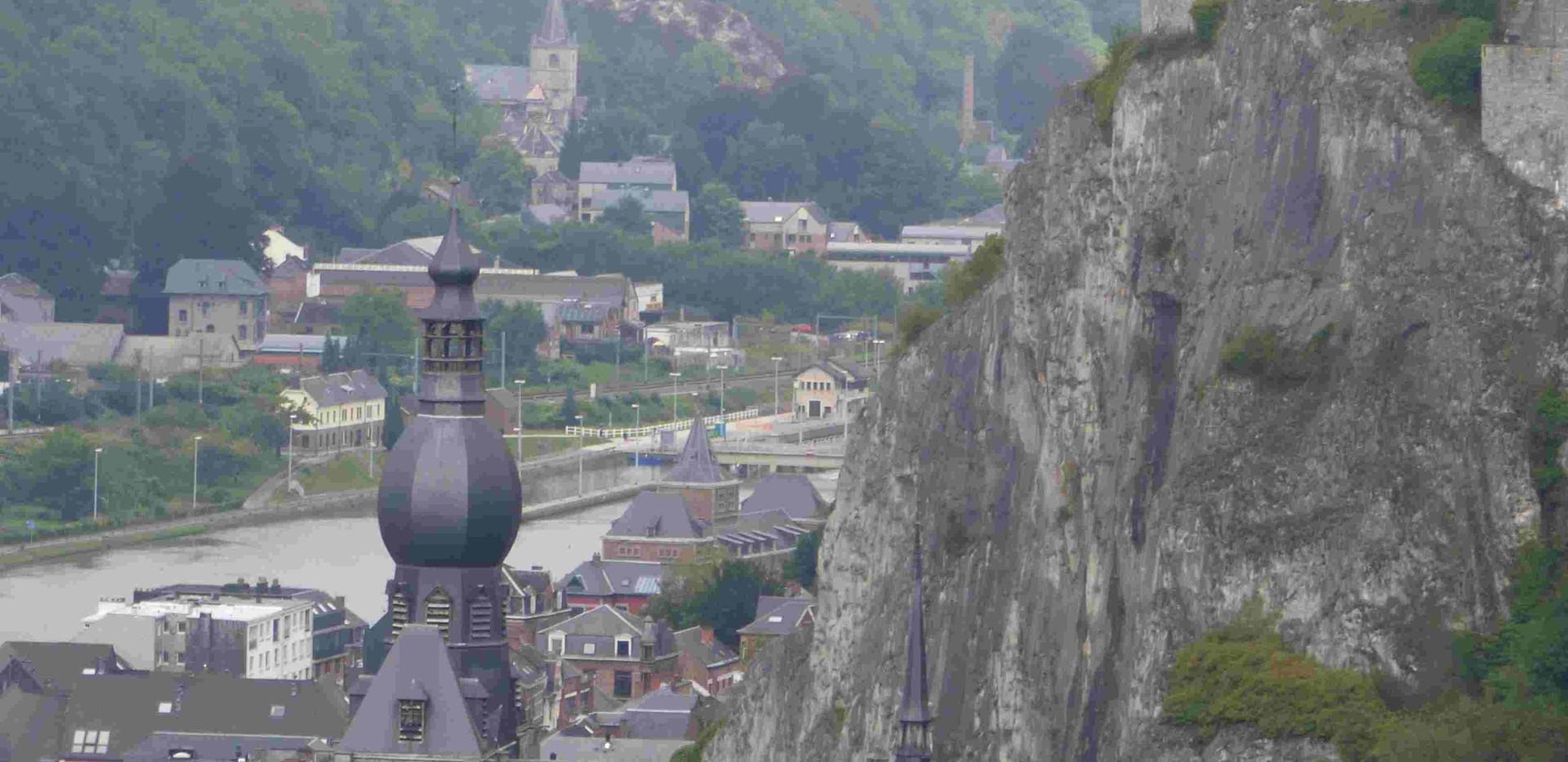Point de vue unique sur Dinant ... sans aller à la citadelle !