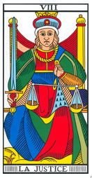 carte justice tarot
