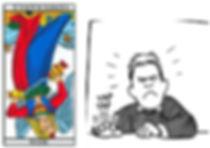 vincent-beckers, carte tarot tempérance, impatience