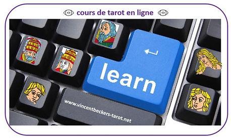 Vincent Beckers, cours tarot, carte tarot, tarot en ligne