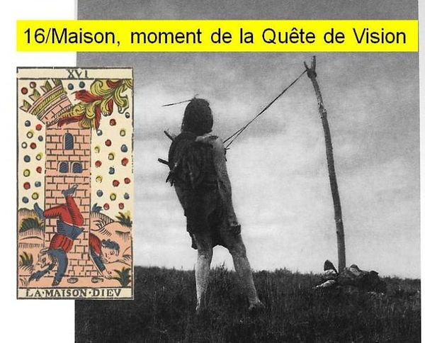 maison dieu carte tarot chamansime vincent beckers