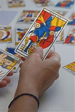 tirage des cartes du  tarot vincent beckers