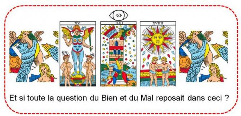diable carte  tarot arhiman symbolique