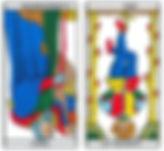 vincent-beckers-hermite-pendu- carte tarot