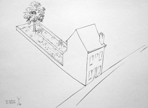 Le jardin du poète
