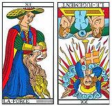 vincent-beckers, jugement renverse, carte tarot, enfant battu