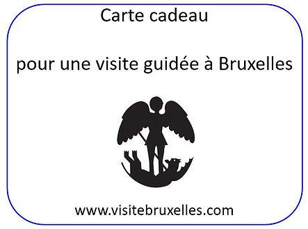 carte cadeau Bruxelles, visite guidée privée de Bruxelles