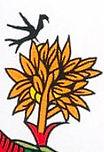 carte étoile  tarot vincent beckers oiseau