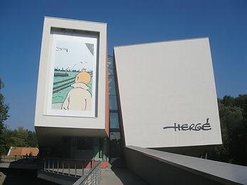 visite Bruxelles, bande dessinée, musée Hergé, visite guidée, Vincent Beckers