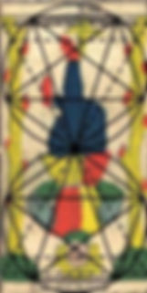 etude centre carte tarot pendu vincent beckers