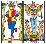 vincent-beckers, pendu renverse, carte tarot