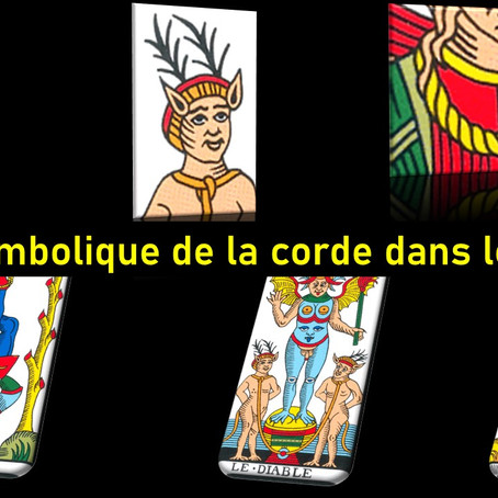 De la symbolique de la corde dans le tarot.