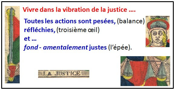 carte justice tarot karma vincent beckers