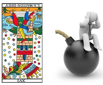 vincent-beckers, carte tarot maison dieu, catastrophe