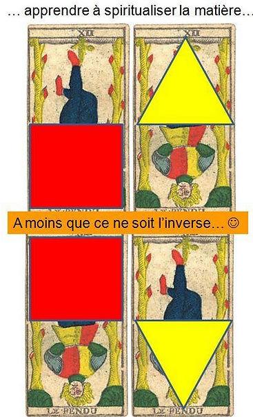 carte tarot pendu symbolique vincent beckers
