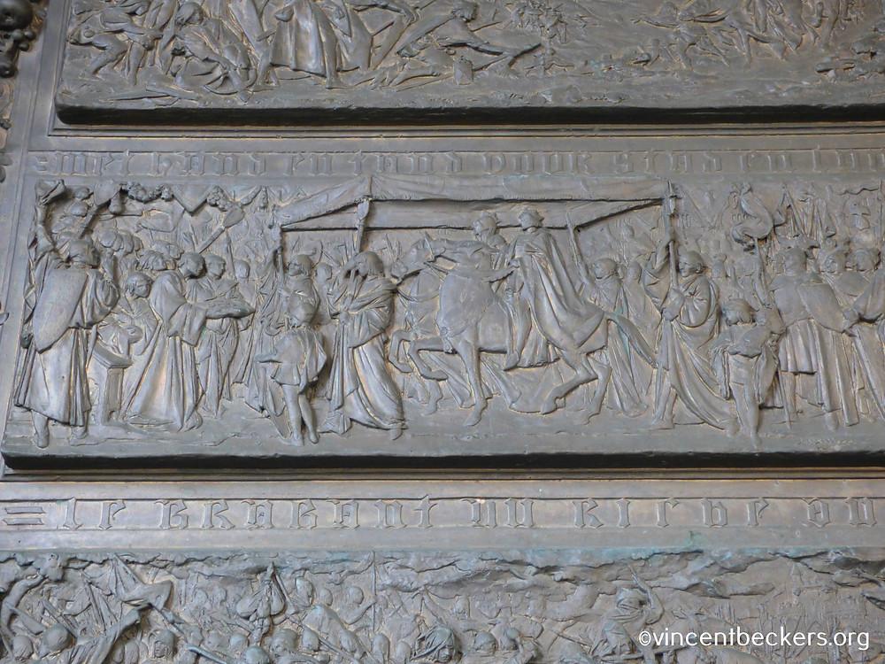 Jeanne de Luxembourg, monument 't serclaes, Vincent Beckers, Grand-Place Bruxelles, visite guidée