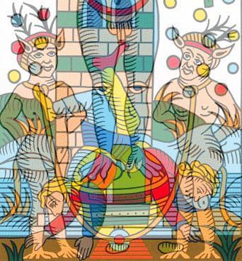 symbolique carte diable tarot marseille vincnet beckers