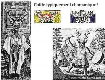 chamanisme et cartes du tarot