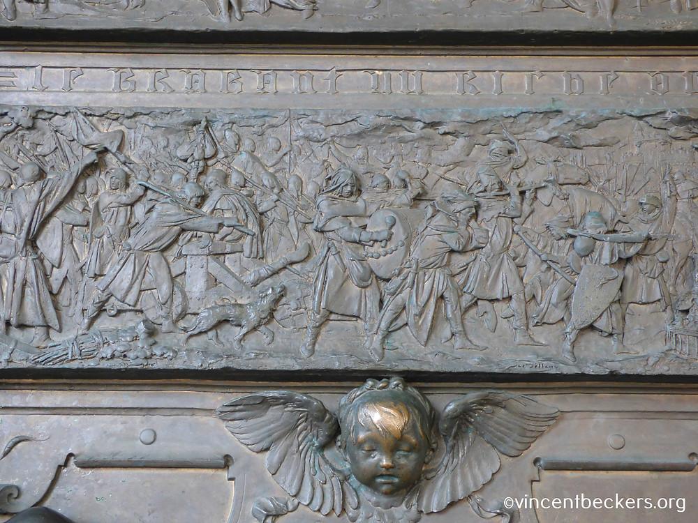 monument 't serclaes, Grand-Place Bruxelles, Vincent Beckers, visite guidée
