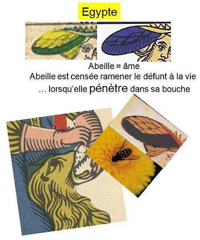 abeille jesus carte tarot symbolique vincent beckers