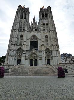 Vincent Beckers, tourisme, Bruxelles, cathédrale Saint Michel, visite guidée cathédrale Saint-Michel
