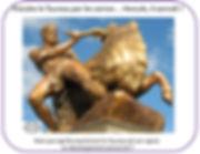 vincent beckers, 12 travaux d'hercule, taureau