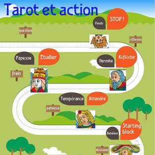 tarot et action