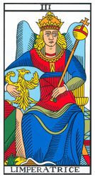 imperatrice carte tarot vincent beckers