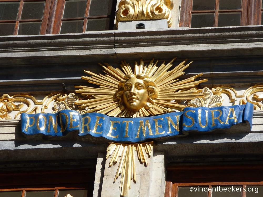 façade maison du Renard, Grand-Place, Bruxelles, visite guidée Grand-Place Bruxelles, Vincent Beckers