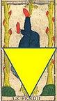 carte pendu tarot vincent beckers pendule