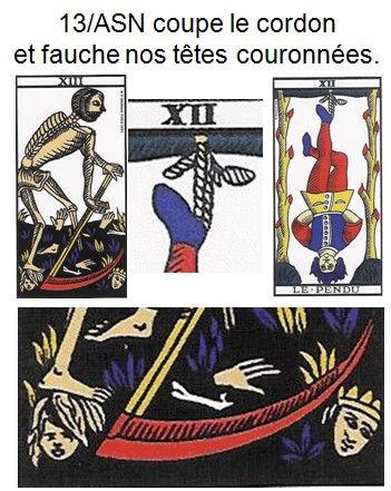 carte tarot arcane sans nom psychogenealogie vincnet beckers