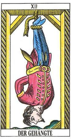 carte tarot pendu juif vincent beckers