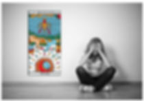 vincent-beckers, carte tarot lune, depression, tirstesse