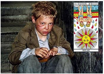 vincent-beckers, carte tarot soleil, renverse