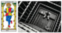 vincent-beckers, carte tarot renverse, pendu, prison