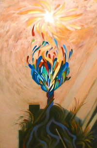 L'arbre amoureux du soleil
