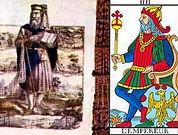 carte empereur tarot vincent beckers vouivre